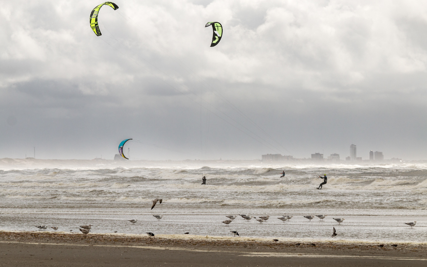 kite surfers | alles